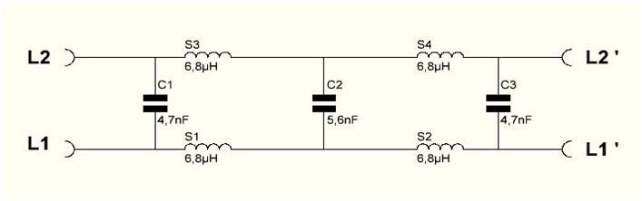 Filtre ADSL-F6BWW-1