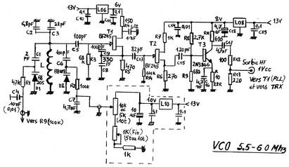 VFO de 5 5 à 6 MHz de Raymond F5OYV! | Radioamateurs Actualités News