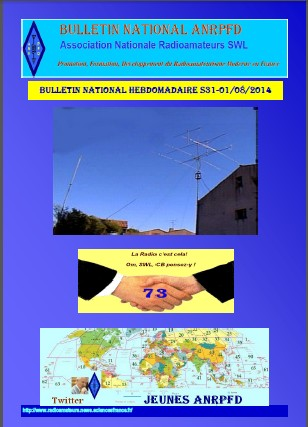 Bulletin National Hebdomadaire ANRPFD S31-01082014