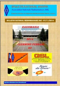 Bulletin National Hebdomadaire ANRPFD S45-07112014