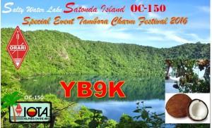 Satonda-YB9K-QSL