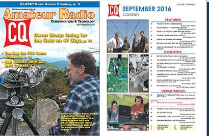 CQ AMATEUR RADIO 092016