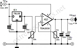 adjustable-voltage-regulator